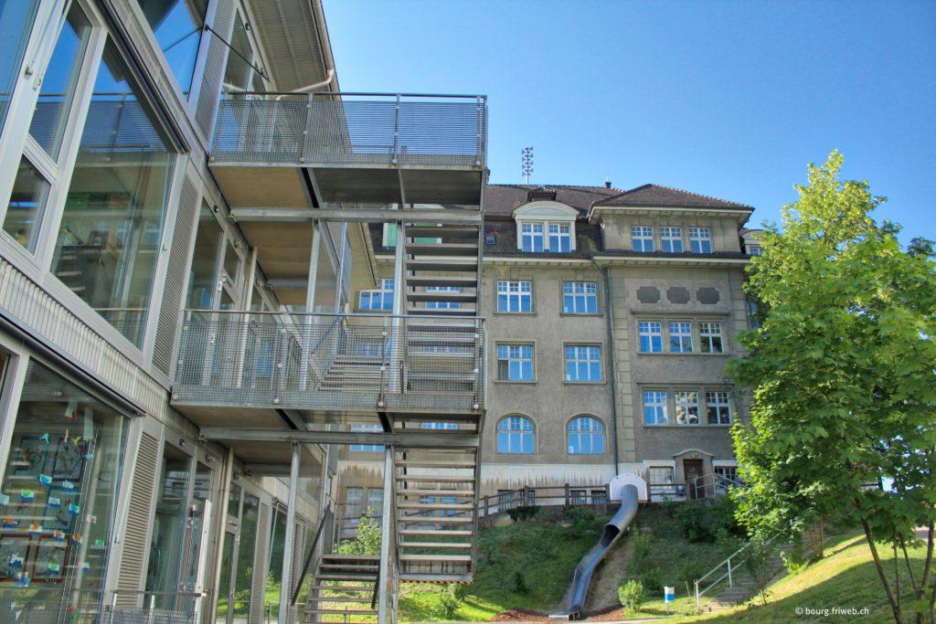 Bourg, Auge, Neuveville (Fribourg, FR)